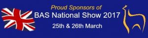 BAS National show 2017- Sponsors banner